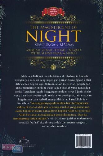 Cover Belakang Buku The Magnificent of Night - Keagungan Malam
