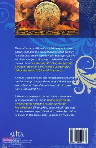 Cover Belakang Buku The Magnificent of Khusyu - Keagungan Khusyu