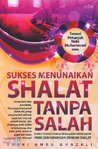 Cover Buku Sukses Menunaikan Shalat Tanpa Salah