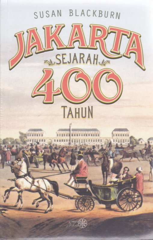 Cover Buku Jakarta Sejarah 400 tahun
