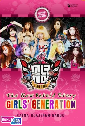 Cover Buku The New Untold Story GIRLS GENERATION