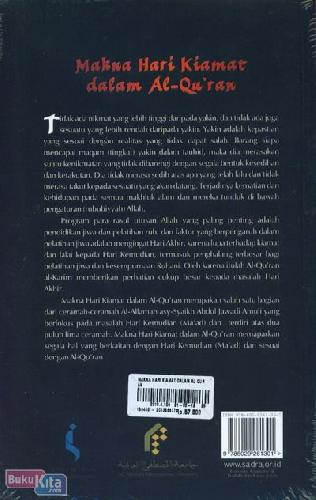 Cover Belakang Buku Makna Hari Kiamat Dalam Al-Quran