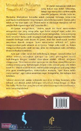 Cover Belakang Buku Memahami Pelajaran Tematis Al-Quran (Buku Pertama)