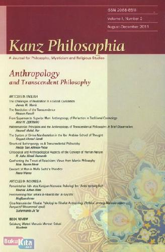 Cover Buku Kanz Philosophia - Anthropology and Transcendent Philosophy