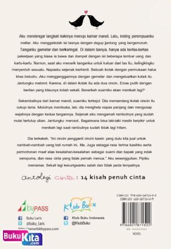 Cover Belakang Buku Antologi Cinta [Hanya Cinta yang Menguatkan Kita] bk