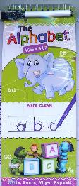The Alphabet Ages 4 & UP (Write, Learn, Wipe, Repeat)