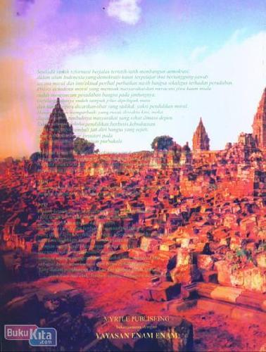 Cover Belakang Buku Reformasi Kebudayaan : Upaya Menemukan Kembali Jati Diri Bangsa