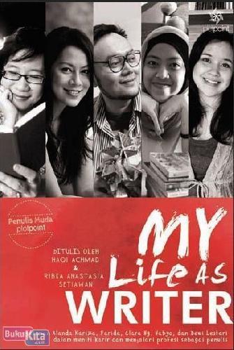 Cover Buku My Life As Writer