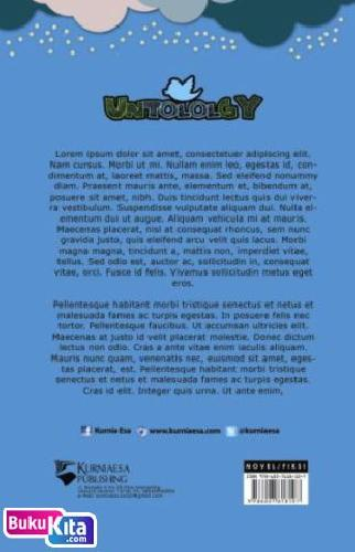 Cover Belakang Buku The Untololgy [Edisi TTD]
