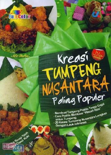 Cover Buku Kreasi Tumpeng Nusantara Paling Populer (Full Color)