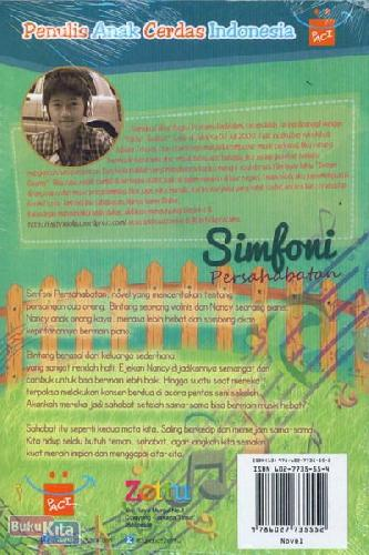 Cover Belakang Buku Simfoni Persahabatan