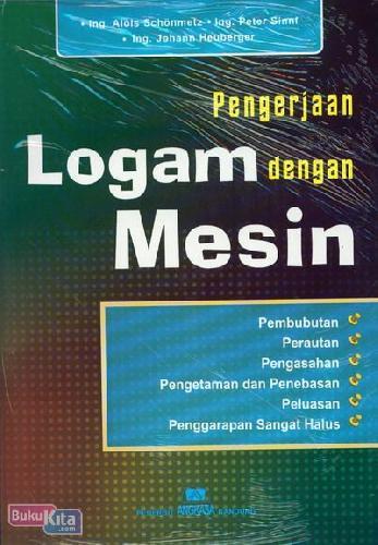 Cover Buku Pengerjaan Logam Dengan Mesin