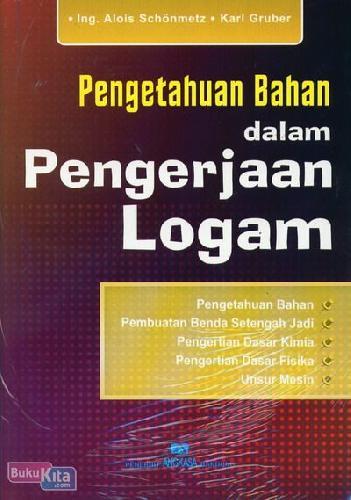 Cover Buku Pengetahuan Bahan dalam Pengerjaan Logam