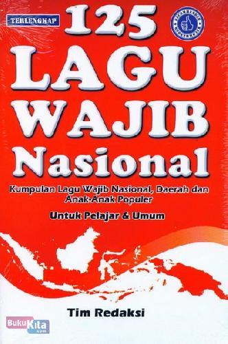 Cover Buku 125 Lagu Wajib Nasional
