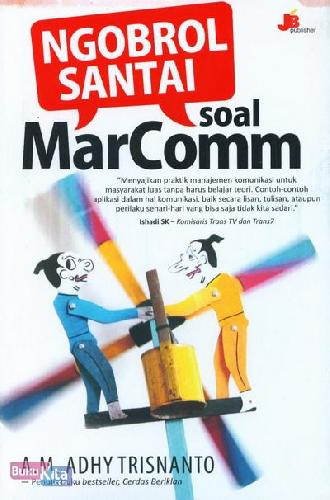 Cover Buku Ngobrol Santai Soal MarComm
