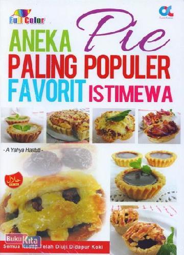 Cover Buku Aneka Pie Paling Populer Favorit Istimewa (full color)