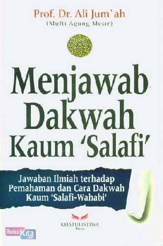 Cover Buku Menjawab Dakwah Kaum Salafi