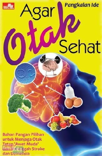 Cover Buku Agar Otak Sehat