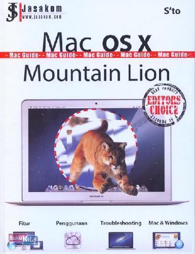 Cover Buku Mac Os x Mountain Lion