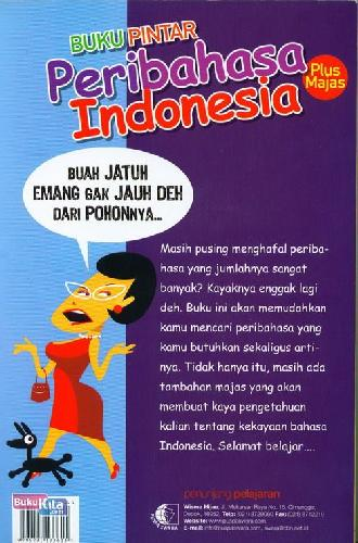 Cover Buku Pintar Peribahasa Indonesia (Plus Majas)