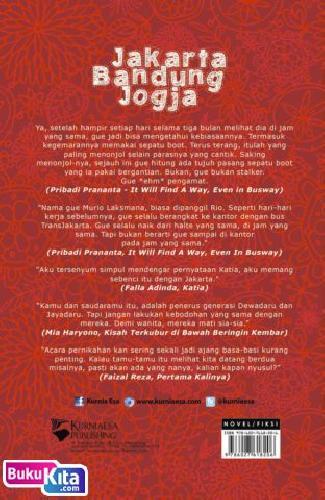 Cover Belakang Buku Jakarta Bandung Jogja