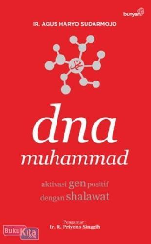 Cover Buku Dna Muhammad : Aktivasi Gen Positif Dengan Shalawat (Cover Baru)
