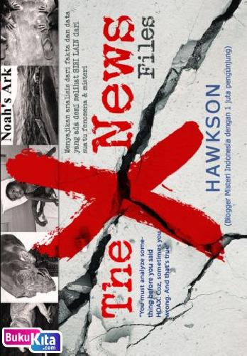 Cover Buku THE X NEWS FILES