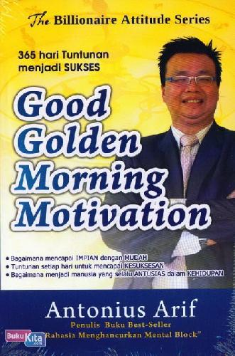 Cover Buku Good Golden Morning Motivation