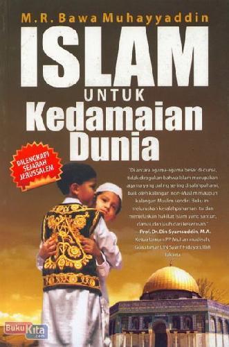 Cover Buku Islam Untuk Kedamaian Dunia