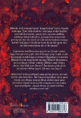Cover Belakang Buku Satu Hati 2 Cinta