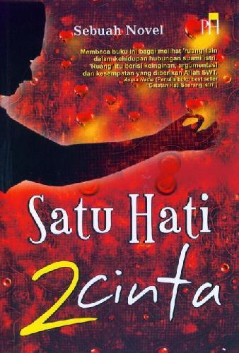 Cover Buku Satu Hati 2 Cinta