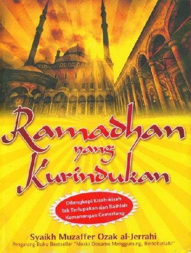 Cover Buku Ramadhan yang Kurindukan