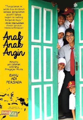 Cover Buku Anak-Anak Angin