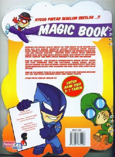 Cover Belakang Buku Magic Book - Belajar Membaca Menulis & Berhitung