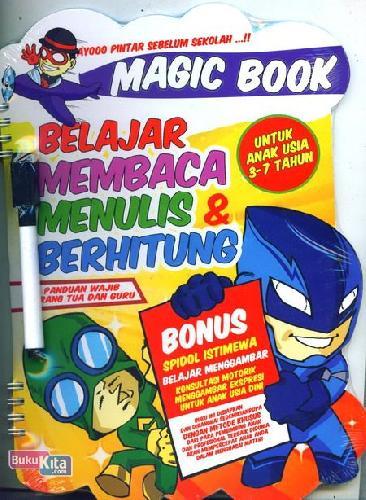 Cover Buku Magic Book - Belajar Membaca Menulis & Berhitung