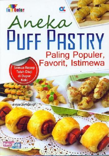 Cover Buku Aneka Puff Pastry Paling Populer, Favarit, Istimewa (full color)