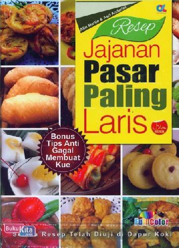 Cover Buku Resep Jajajan Pasar Paling Laris (full color)