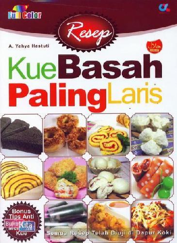 Cover Buku Resep Kue Basah Paling Laris (full color)