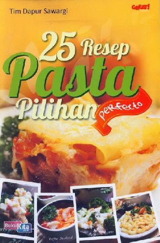 Cover Buku 25 Resep Pasta Pilihan Perfecto