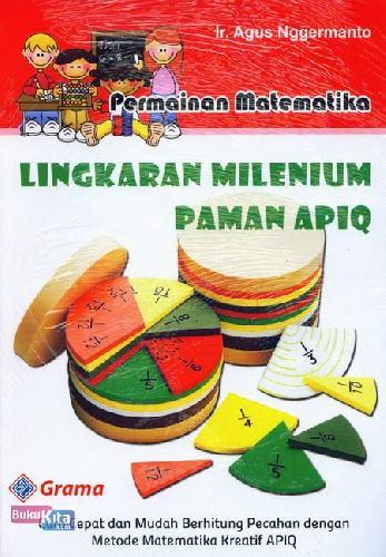 Cover Buku Permainan Matematika Lingkaran Milenium Paman Apiq