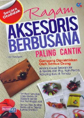 Cover Buku Ragam Aksesoris Berbusana Paling Cantik