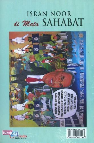 Cover Belakang Buku Isran Noor di Mata Sahabat