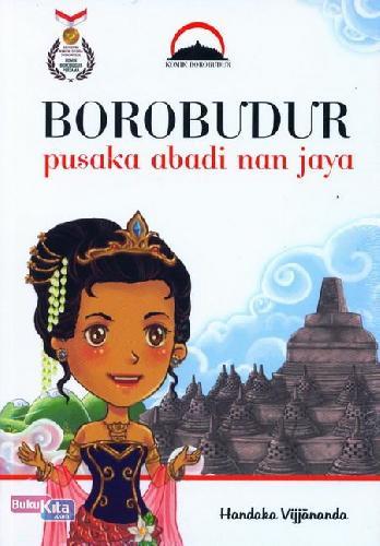Cover Buku Borobudur Pusaka Abadi nan Jaya