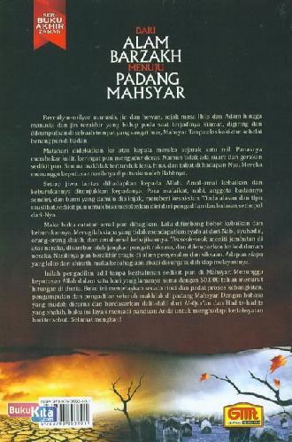 Cover Belakang Buku Dari Alam Barzakh Menuju Padang Mahsyar