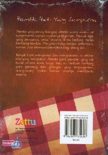 Cover Belakang Buku Pemilik Hati yang Sempurna