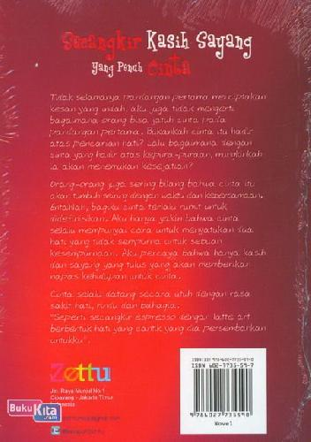 Cover Belakang Buku Secangkir Kasih Sayang yang Penuh Cinta