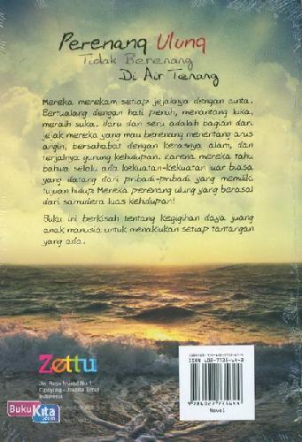 Cover Belakang Buku Perenang Ulung Tidak Berenang Di Air Tenang