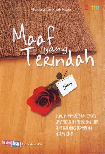 Cover Buku Maaf yang Terindah