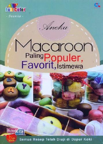 Cover Buku Aneka Macaroon Paling Populer, Favorit, Istimewa