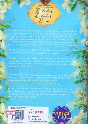 Cover Belakang Buku Bidadari-Bidadari Bumi